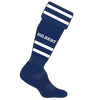 Gilbert socks high density padding in heel and toe and underfoot mesh ventilation on top of foot elasticated arch and ankle support flat toe seam fold over cuff