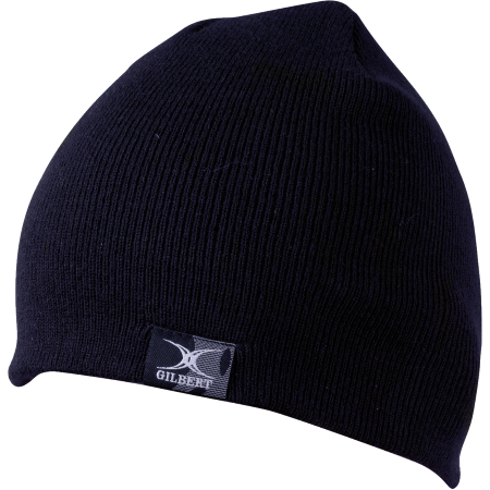 Gilbert Beanie Hat double-layer knit toque with branded woven label 100% acrylic