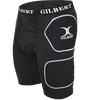 Gilbert Protective shorts 5mm triflex padding hip and quadricep pads for protection ideal for hard ground
