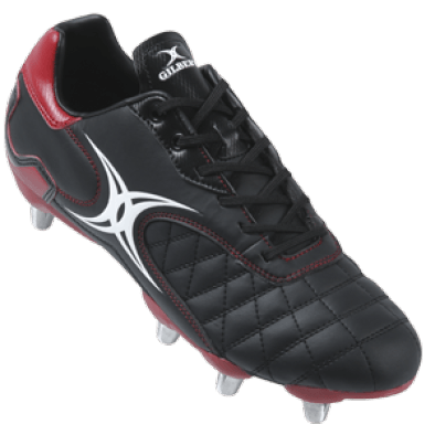 Gilbert Sidestep Revolution Black/Red Lo HT Boot reliable entry level shoe cost effective durable low cut
