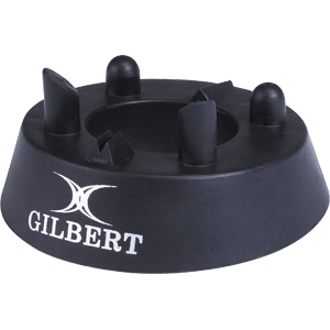 Gilbert 450 Precision Kicking Tee black moulded rubber popular tee all ages all abilities professional players