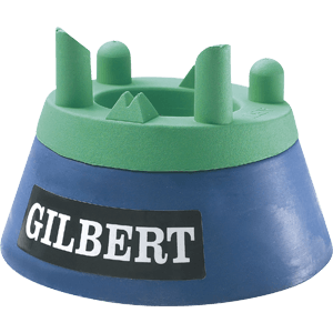 Gilbert Adjustable Kicking Tee height varied using a screw thread system will not slip adjustable from 600mm up to 900mm moulded rubber