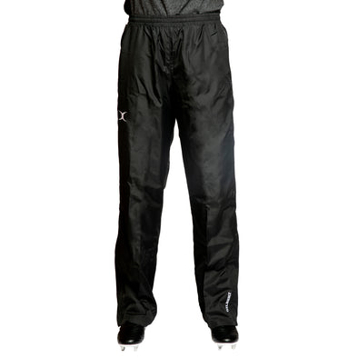 Gilbert Virtuo Waterproof Trouser waterproof breathable elasticated waist with drawcord pocket for valuables knee length zippers