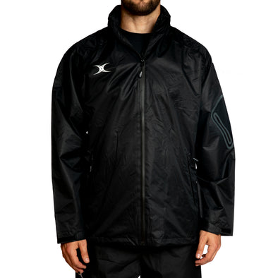 Gilbert Virtuo Waterproof Jacket breathable adjustable pockets pack-away hood mesh and taffeta lining