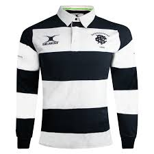 Barbarian FC Black/White Long Sleeve Heritage Jersey