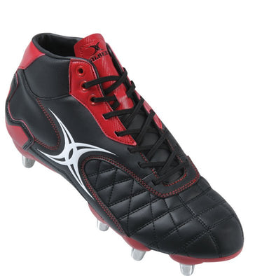 Gilbert Sidestep Revolution Black/Red Mid HT Boot reliable entry level shoe cost effective durable mid cut