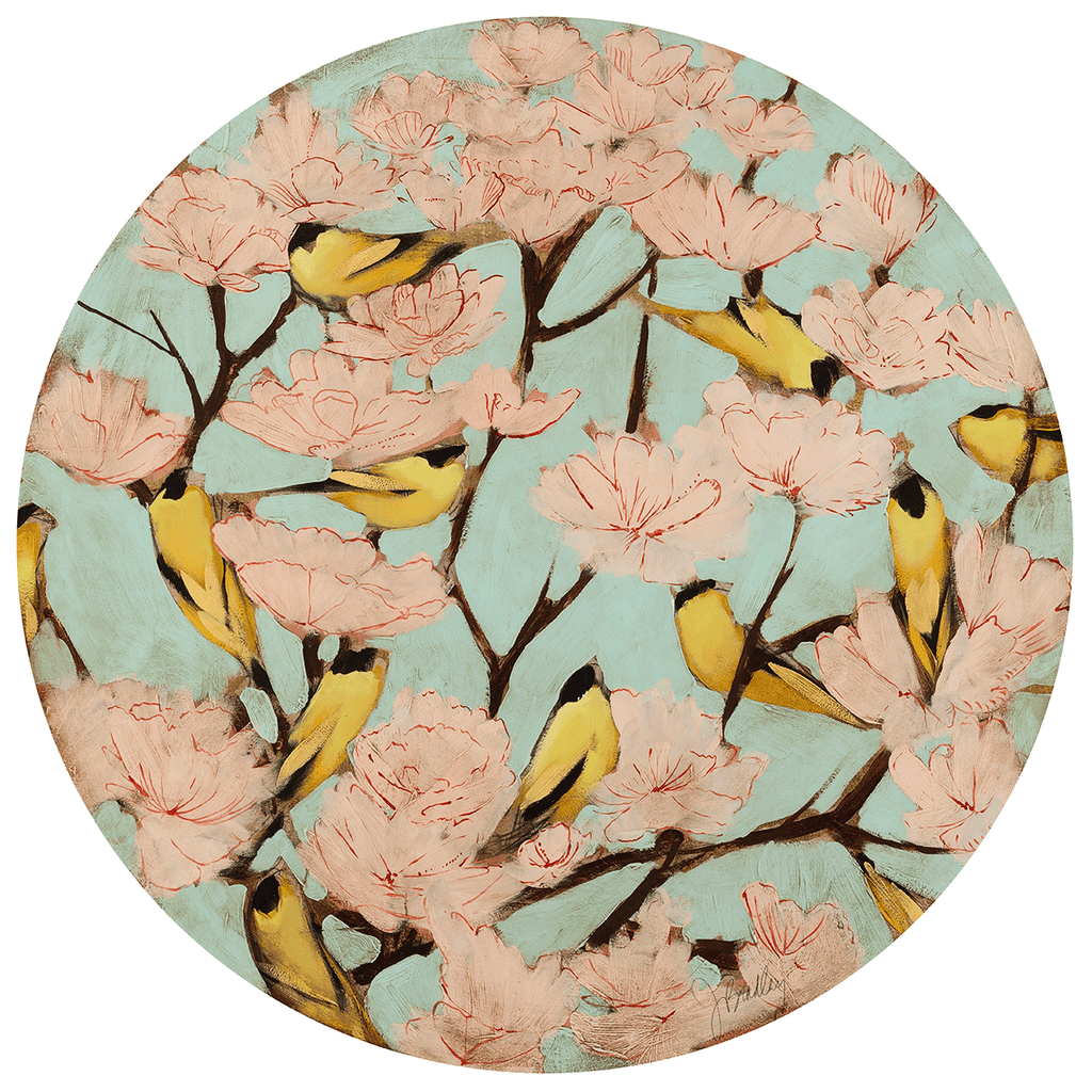 Blossoms & Finches