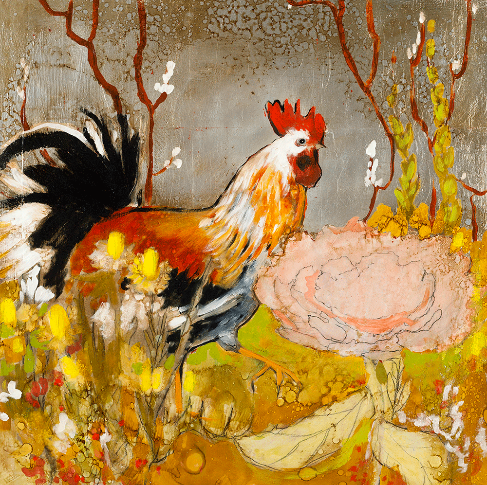 Rooster 24 x 24