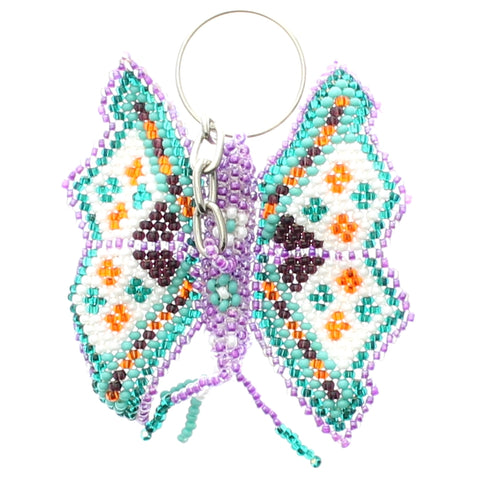 Beaded Keychain Butterfly