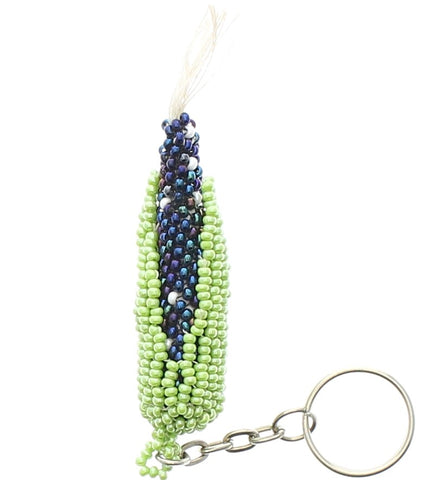 Beaded Keychain Corn