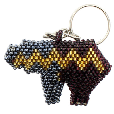 Beaded Keychain Fetish Bear