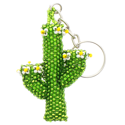 Beaded Keychain Saguaro