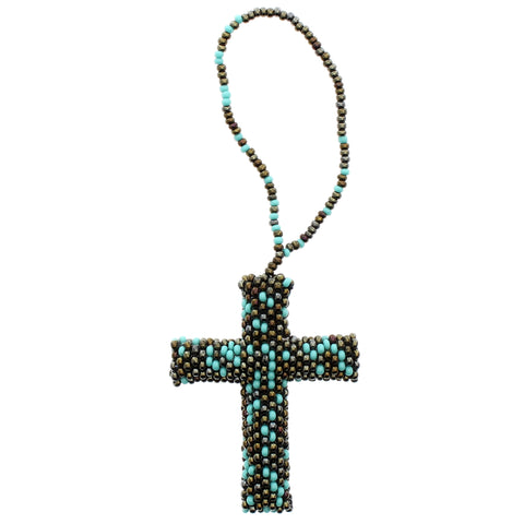 Beaded Ornament Cross