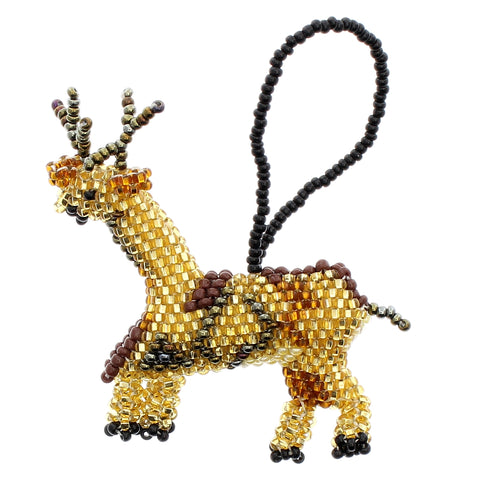 Beaded Ornament Reindeer