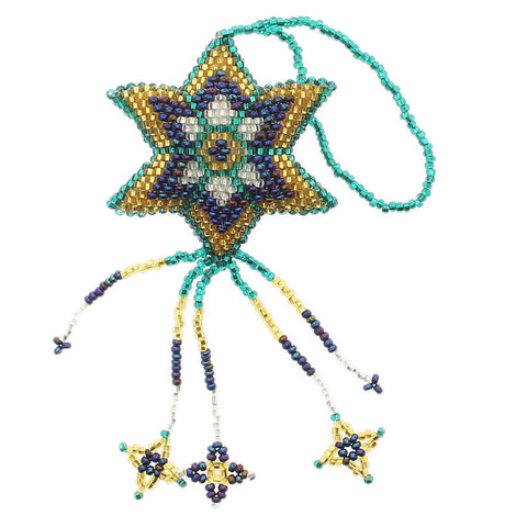 Beaded Ornament Star