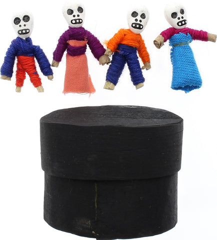Day of the Dead Dolls Skeletons in a Box (4)