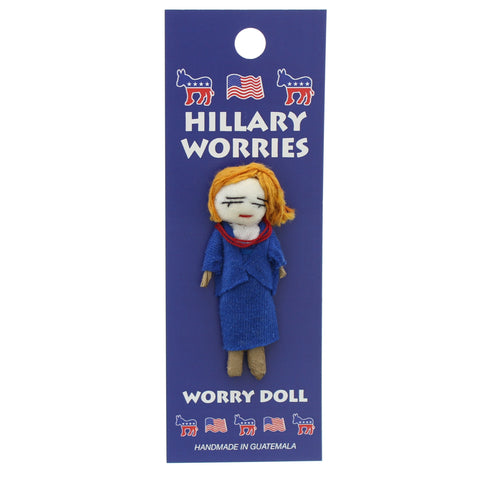 Worrydoll.com Hillary Worry Doll hand made