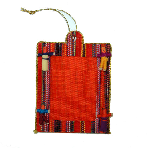 Worry Doll Picture Frame Ornament