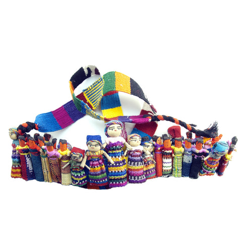 Worrydoll.com Worry Doll Hat Band hand made