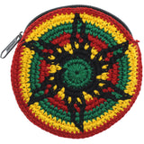 Round Crocheted Coin Purse.