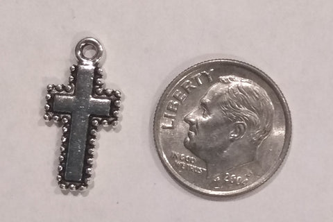 Bulk Crosses Pewter Silver (20 Pieces) - www.kraftsandbeads.com