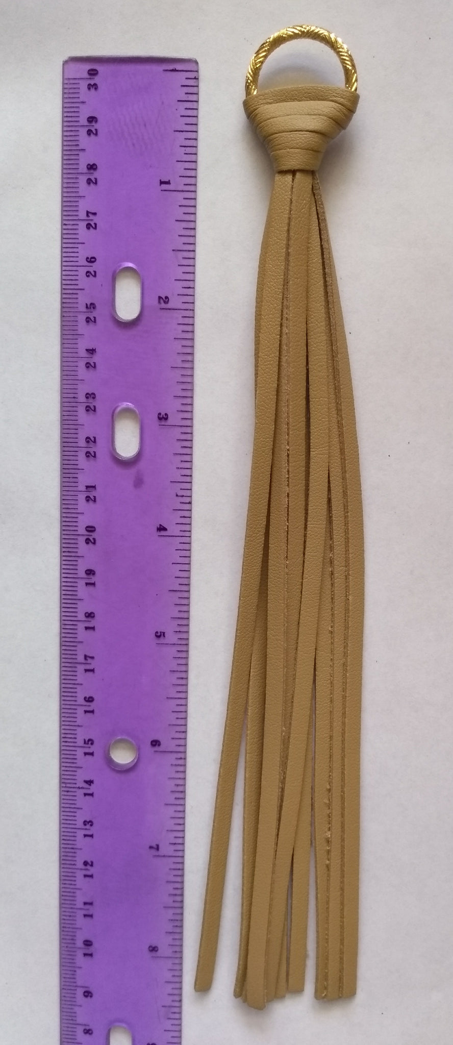 Tassels Tan Color (1 Piece) - www.kraftsandbeads.com