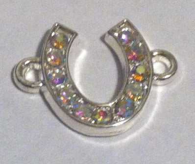 Horse Shoe Charms (2 Pieces) - www.kraftsandbeads.com