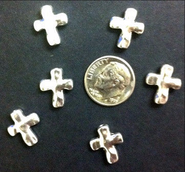 Pewter Crosses (20 Pieces) - www.kraftsandbeads.com
