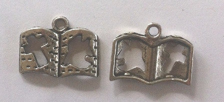 Bible Charms (15 Pieces) - www.kraftsandbeads.com