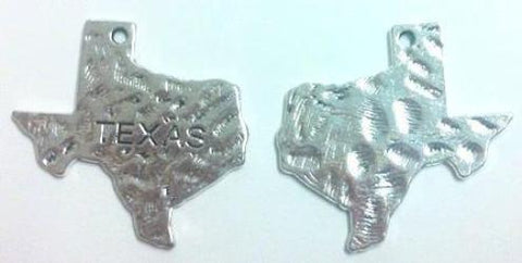 Texas State Charms (4 Pieces)
