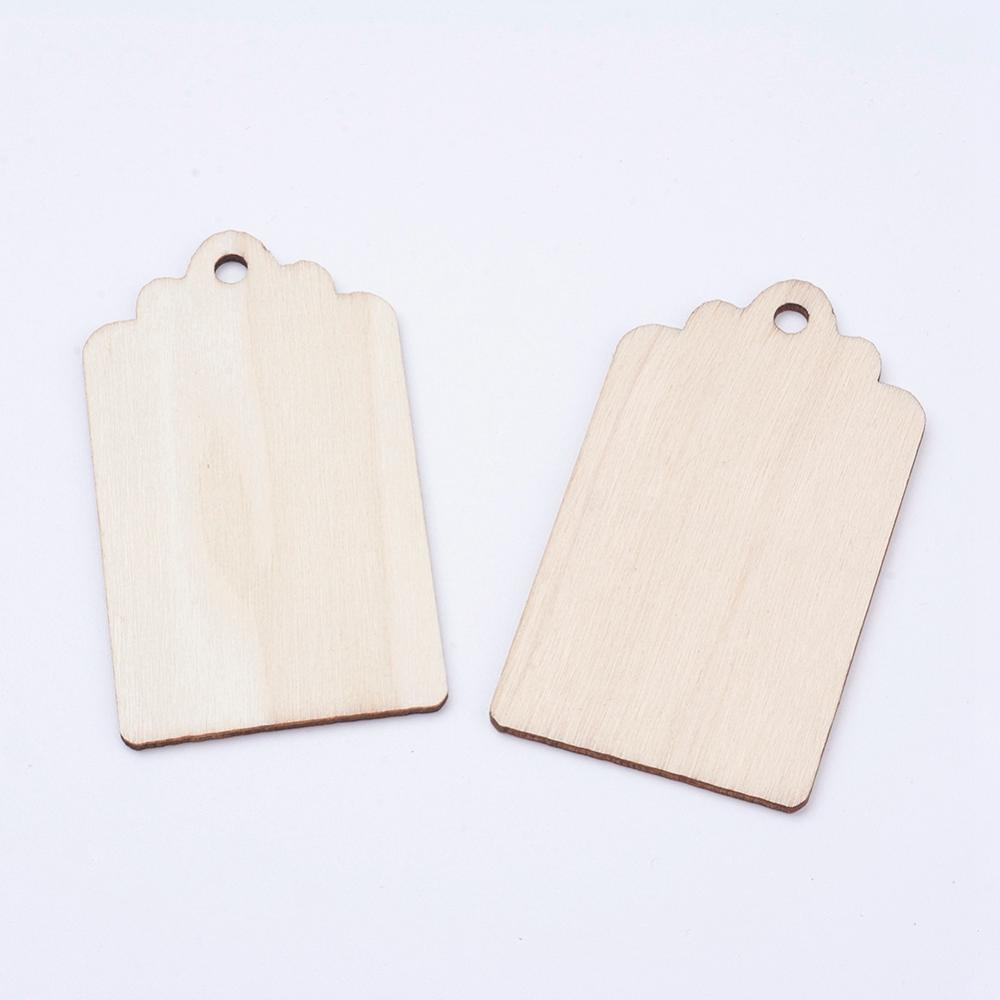 Wood Tags (4 Pieces)