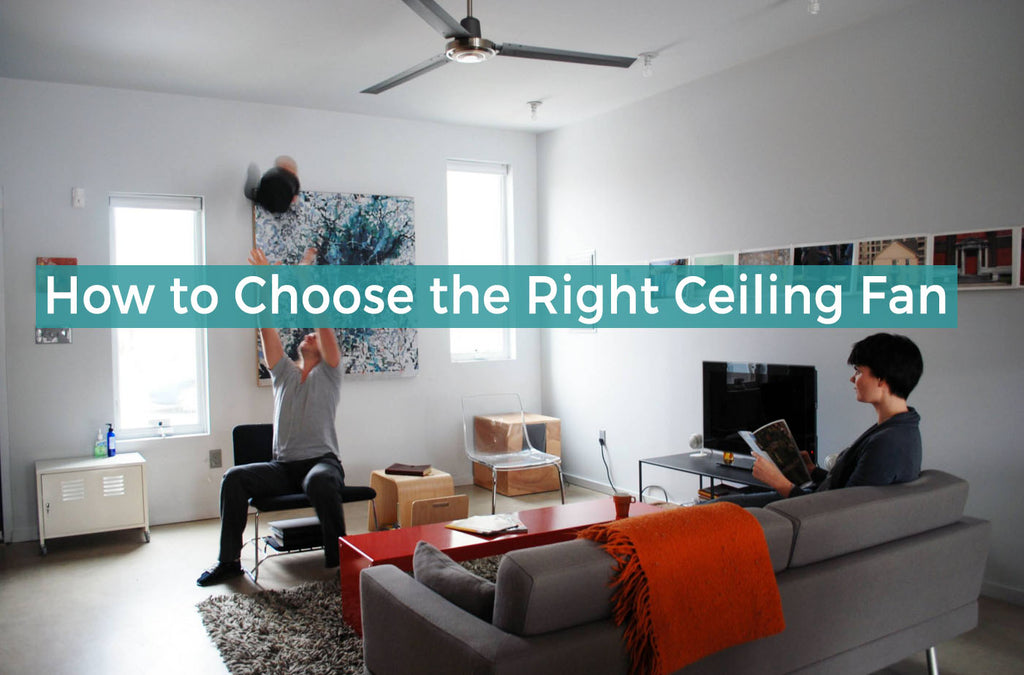 Ultimate guide on how to choose the right ceiling fan fan diego the quick guide to choosing the right ceiling fan aloadofball Gallery
