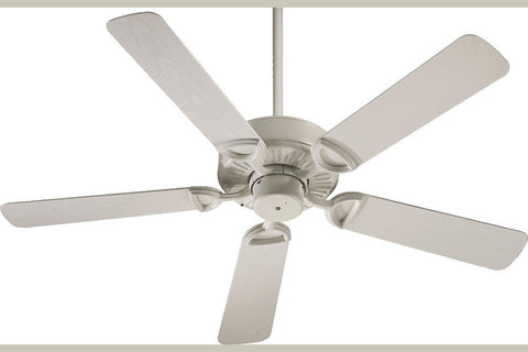 "Quorum 143525-67 52"" Estate Patio Ceiling Fan in Antique White"