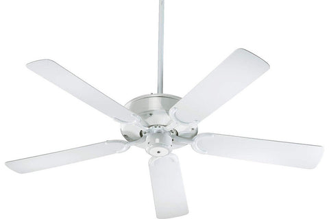 "Quorum 146525-6 52"" All-Weather Allure Ceiling Fan in White"