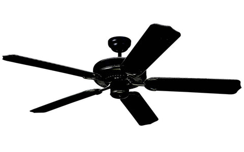 "Monte Carlo - 5WF52BK - 52"" Ceiling Fan - Weatherford"