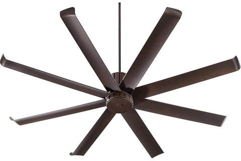 "Quorum 196728-86 72"" Proxima Ceiling Fan in Oiled Bronze"