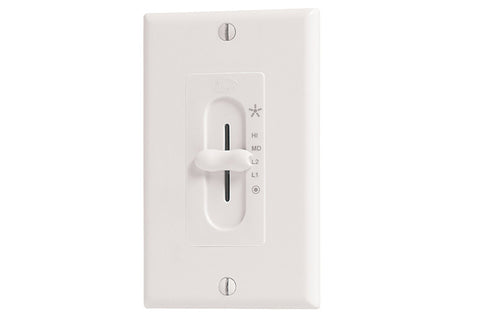 Hunter 27181 Four-Speed Slide Wall Control