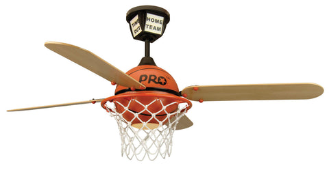"Craftmade ProStar Basketball PS52BB4 52"" Ceiling Fan with Blades Included in ProStar Basketball"