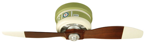 "Craftmade WarPlanes WB242SC2 42"" Ceiling Fan with Blades Included in WarPlanes Sopwith Camel"