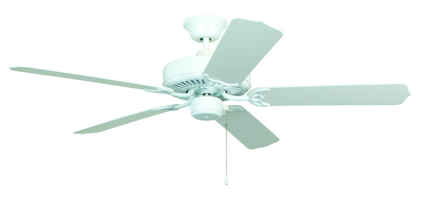Craftmade - WOD52WW5X - 52`` Ceiling Fan with Blades Included - All-Weather - White