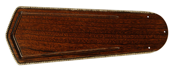 "Craftmade - B556C-OA8 - 56"" Type 1 Blades - Custom Carved Ophelia - Ophelia Walnut"