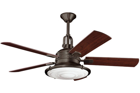 Kichler - 300020OZ - 52``Ceiling Fan - Kittery Point - Olde Bronze