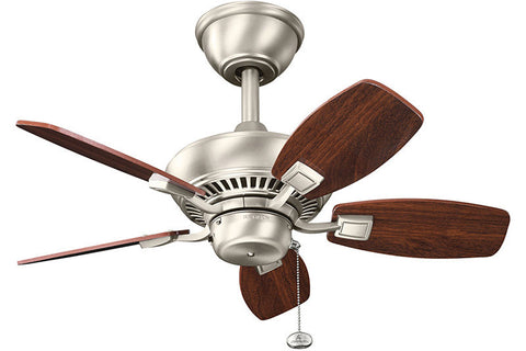 Kichler - 300103NI - 30``Ceiling Fan - Canfield - Brushed Nickel
