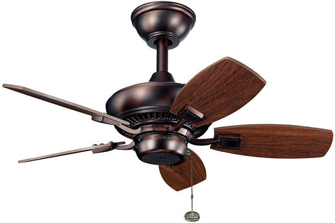 Kichler - 300103OBB - 30``Ceiling Fan - Canfield - Oil Brushed Bronze