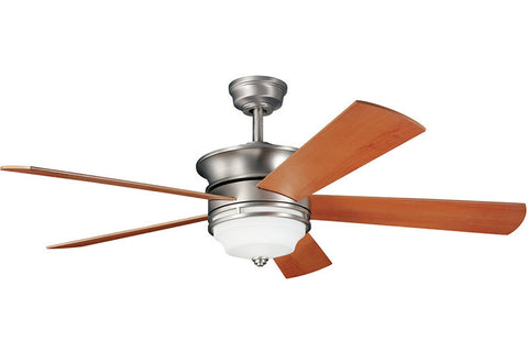 Kichler - 300114NI - 52``Ceiling Fan - Hendrik - Brushed Nickel