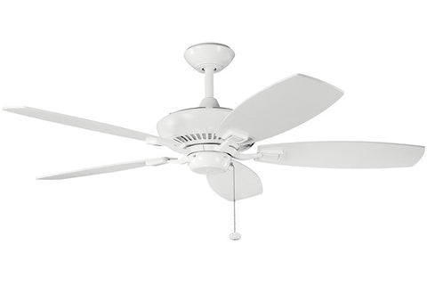 Kichler - 300117WH - 52``Ceiling Fan - Canfield - White
