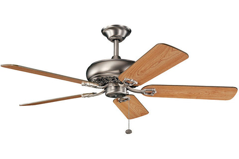 Kichler - 300118AP - 52``Ceiling Fan - Bentzen - Antique Pewter