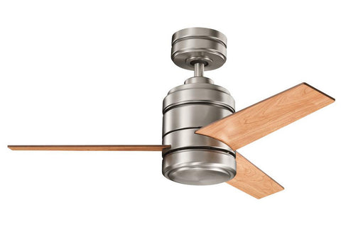 "Kichler 300146AP-370025AP 38"" Arkwright Ceiling Fan in Antique Pewter"