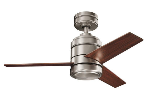 "Kichler 300146AP-370026OBB 48"" Arkwright Ceiling Fan in Antique Pewter"