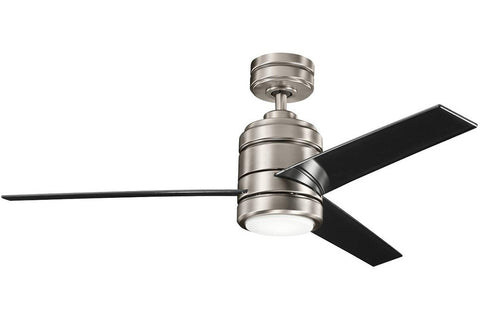 "Kichler 300146AP-370029AP-380047AP 48"" Arkwright Ceiling Fan in Antique Pewter"